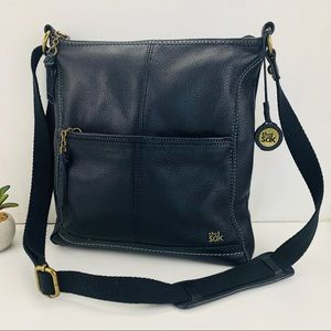 The Sak Lucia Leather Crossbody Adjustable Strap